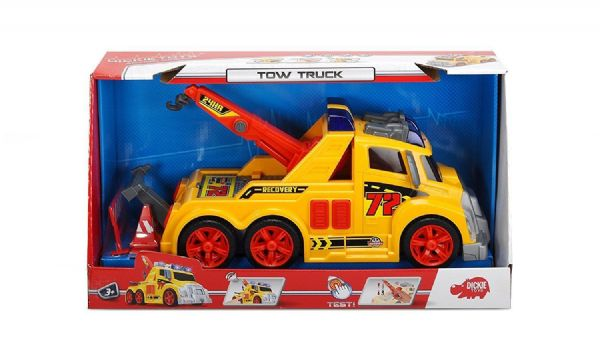 Dickie Toys Tow Truck with Lights and sounds